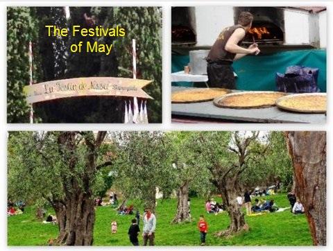 Le festin des mai, may festivals, Nice France