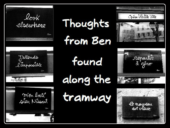thoughts from ben, nice france