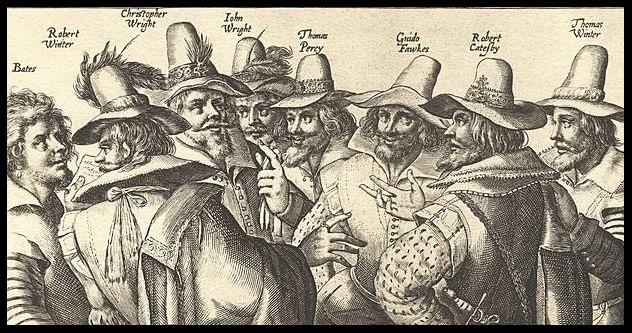 conspirators guy fawkes