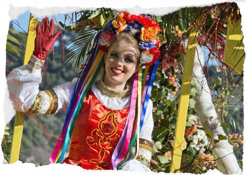 flower parade nice france