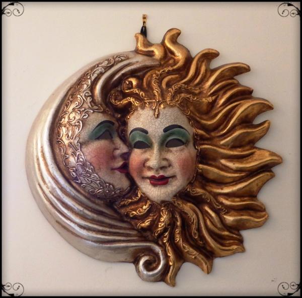 sun moon mask venice carnival