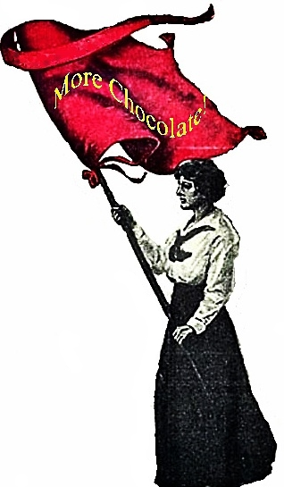 may day, more chocolate, spirit of labor day