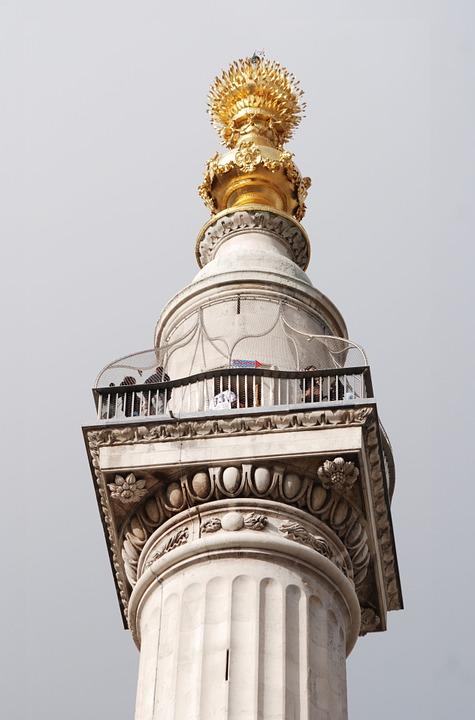 London fire 1666 monument