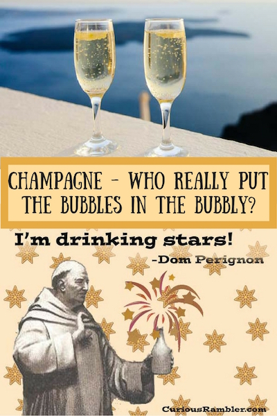 Champagne - Who really put the bubbles in the bubbly?