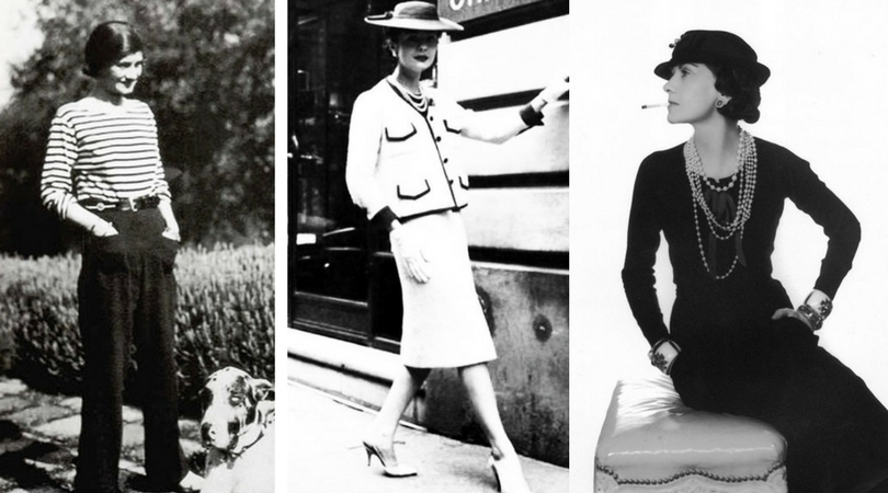 Coco Chanel styles