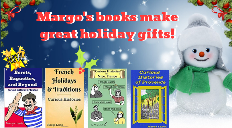 Margo's books make great holiday gifts! Snowman with 4 books